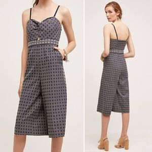 Anthropologie Elevenses Remy Jumpsuit in Size 6